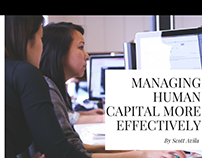 Managing Human Capital More Effectively
