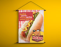 Hot Dog Universitário | Branding