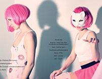 Fashion Editorial in print for KAI'OUTI Magazine
