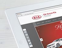 Kia Web Layouts