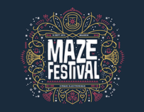 Maze Festival Shirts