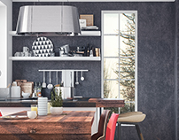 Archviz - kitchens