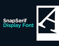 SnapSerif - Display Font
