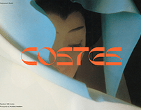 Costes - Funky and Futuristic Typeface