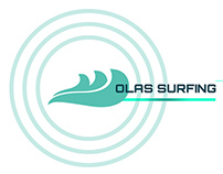 Olas Surfing Boards Co. Branding Project