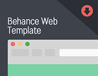Behance Web Template (Retired)