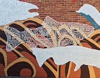 Circuit Swimmer Mural