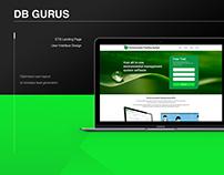 ETS Landing Page - UI design