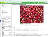 Cherry Mỹ và Canada - cẩm nang MuaBanNhanh