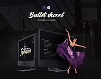Web site ballet studio