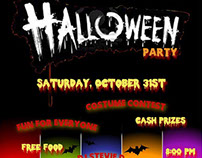 Halloween Party Flier - Old Towne Inn 2015