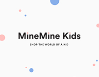 MineMine Kids Web & Branding