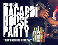 Promoção BACARDÍ HOUSE PARTY