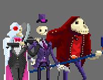 Reaper pixel art - Mobile Game - Wip