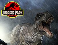 Jurassic Park - Film Poster Design/Remake