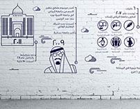 إنفو جرافيك لجامعة الأميره نورة
