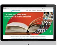 Website for an International School in Mumbai
