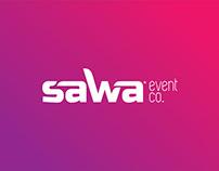 SAWA Event Co. Logo & Branding