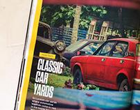 Classic car yards