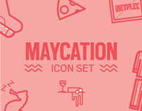 Maycation Icons
