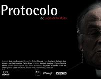 Poster Protocolo obra de teatro