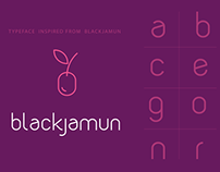 New Typeface Design: Blackjamun