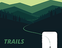 TRAILS - Keep track of your journey in the wild
