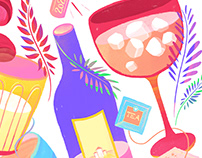 drinks, fruits & vegetables