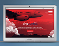 Skypermits Website design and development