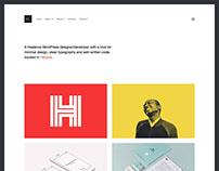 Kraft - WordPress Portfolio Theme
