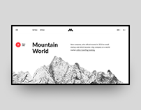 Mountain World design
