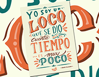 Loco Lettering Poster
