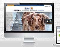 Letourno | Refonte de site web avec boutique en ligne