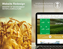 """MINISTRY OF WATER AGRICULTURE""""Website Redesign"""""""