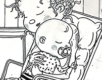 ıf you have a baby - sketches