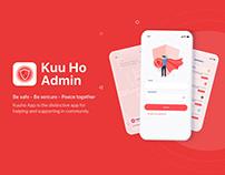 Kuuho Admin web/app