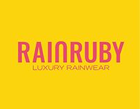 Rain Ruby - Logo & Brand Identity Design