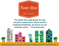Font -Size: What is it good for?