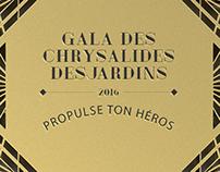 Gala des Chrysalides 2016 - Image de marque