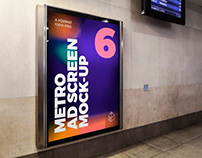 Metro Ad Screen Mock-Ups 8 (v.8)