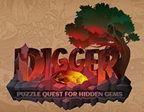 Digger - Puzzle Quest for Hidden Gems