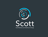Live Competition Win: 'Scott College' Branding