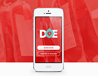 Doe - Donation Blood App