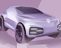 2030 VOLKSWAGEN E-SUV