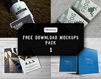 Download Mockups Pack