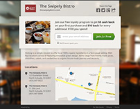 UX & Infographics for Swipely (2012)