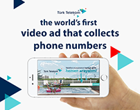 T. TELEKOM - VIDEO AD THAT COLLECTS PHONE NUMBERS