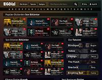 Yabancı Dizi Sitesi - PSD to CSS