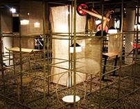 Furniture exhibit installation in Bamboo