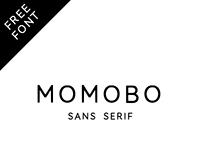 MOMOBO | free font*
